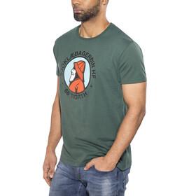 66° North Gola Organic Cotton T-Shirt Men Bottle Green